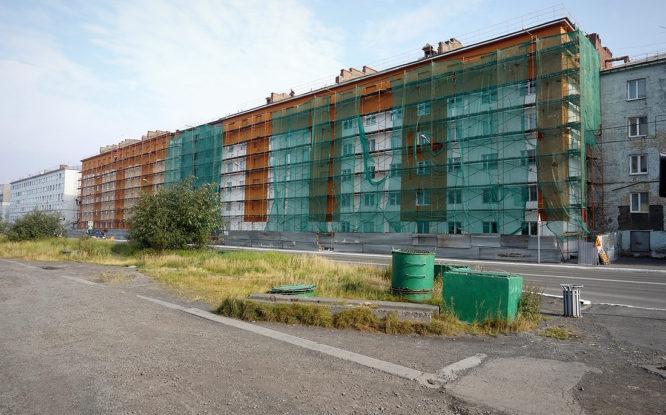 Расселенная пятиэтажка в Норильске вновь примет жильцов