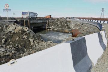 Проект реконструкции моста через речку Наледную будет готов в феврале