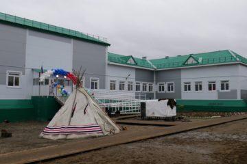 В таймырском поселке Усть-Авам открылась новая школа