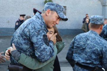 Норильские полицейские вернулись из служебной командировки в Чечню