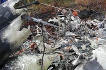 Неподалеку от Дудинки найден вертолет, пропавший в августе