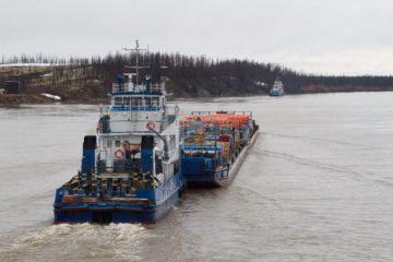 Енисейское пароходство завершило доставку грузов для газовиков Таймыра