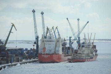 В дудинском порту начинается северная морская навигация