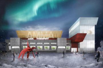 В Норильске представили проект Арктического музея современного искусства