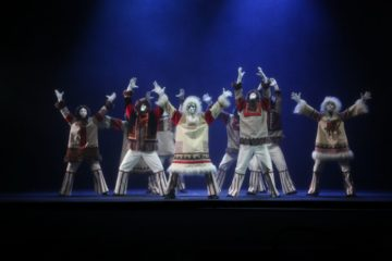 «Сны белой земли» открыли «Большой Аргиш» в Норильской драме