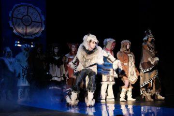 В Норильском колледже искусств на сцену вышли «шаманы», «лисы» и «медведи»