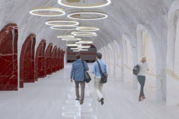 Опубликованы эскизы станций будущего метро в Красноярске