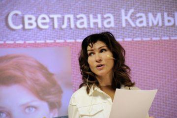 Актриса Светлана Камынина прочла норильчанам прозу Людмилы Петрушевской