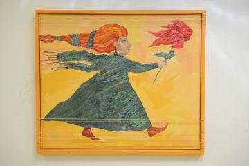 Выставка «Земля смеется цветами» готова к открытию в художественной галерее