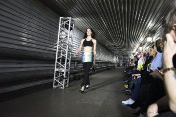 Производственная галерея Медного завода в Норильске превратилась в подиум