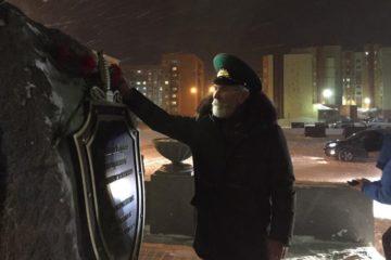 В Норильске почтили память пограничников, павших на острове Даманский⠀