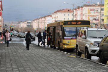В Норильске на время самоизоляции изменили график движения автобусов
