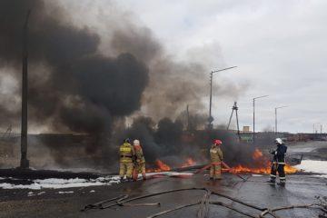 Пожар на ТЭЦ-3 своевременно потушили