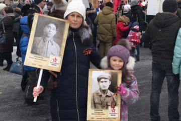 Семейные истории работников «Норникеля» стали частью летописи «Бессмертного полка»
