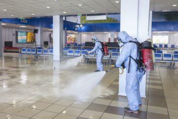В аэропорту Норильска провели дезинфекцию