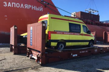 «Норникель» передал два новых реанимобиля норильской станции скорой помощи