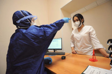 Как берут пробы на коронавирус