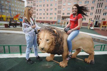 На детских площадках Норильска поставят фигуры сказочных героев