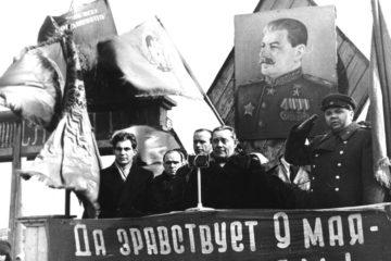 Фотография митинга 9 мая 1945 года в Норильске – ровесница Победы