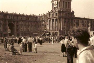 В 1956 году в Норильск прибыл первый комсомольский десант