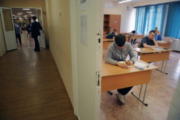 Норильские школьники сдали ЕГЭ по истории и физике