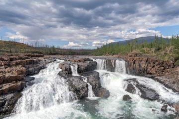 К водопадам плато Путорана хотят проложить несколько комфортных маршрутов