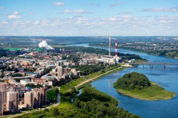 Норильск и еще много городов на карте Кемерово