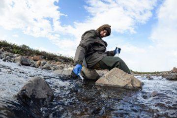 Ученые РАН обследовали ручей Безымянный и реку Далдыкан