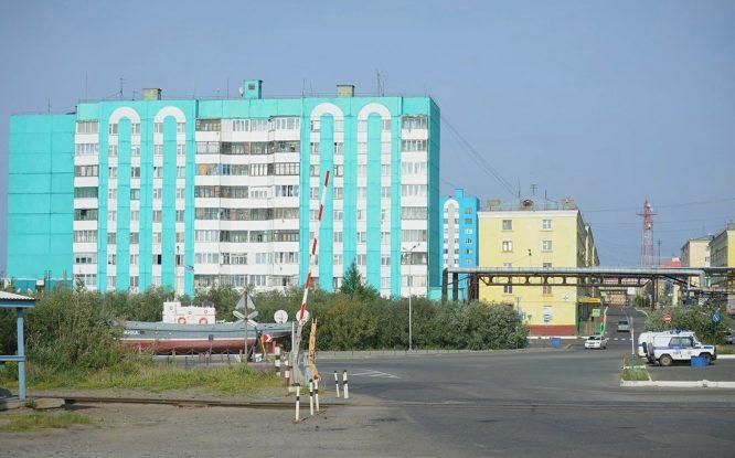 В Дудинке обновят фасады девяти многоквартирных домов