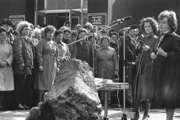 Урны с прахом первых норильчан захоронили на Нулевом пикете