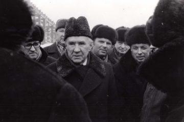 В марте 1978 года на стройплощадку НМЗ приехал Алексей Косыгин