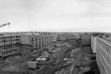 Северная часть Норильска появилась в 1960-х годах