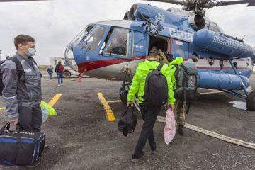 Волонтеры «Норникеля» ликвидируют разлив топлива с ТЭЦ-3