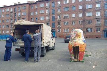 Композицию «Времена года», испорченную вандалами, отправили на склад