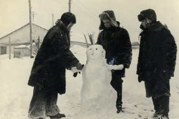 В 1953-м норильским школьникам разрешили не посещать школу в плохую погоду