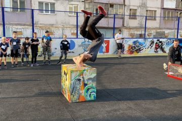 В Норильске прошли соревнования по хип-хопу и паркуру
