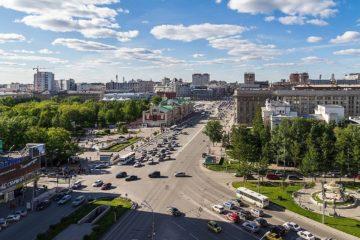 Улица Норильская в городе дорог