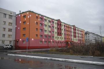 В Талнахе реконструировали жилье для приезжих специалистов