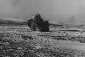Первый взрыв на строительстве рудника «Комсомольский» прогремел в 1965 году