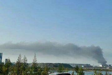 В Норильске горят два полигона бытовых отходов