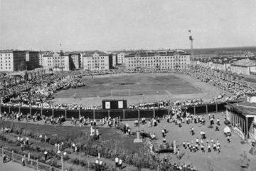 Главный норильский стадион открылся в 1959 году