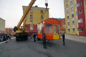 В Дудинке появятся еще четыре крытые автобусные остановки