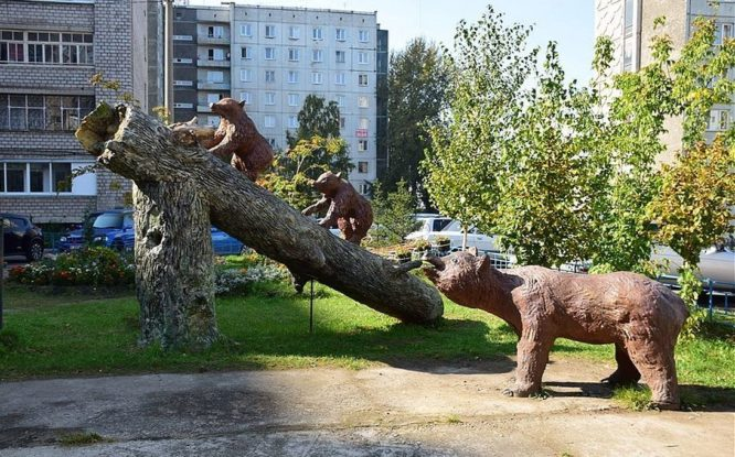 На улице Норильской в Красноярске – чудеса