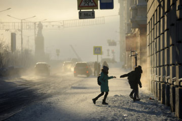 К выходным в Норильске немного потеплеет, но усилится ветер