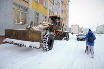 В Норильске начался сезон большой снегоуборки