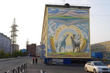 Фасады городских зданий украсят новые мозаичные панно