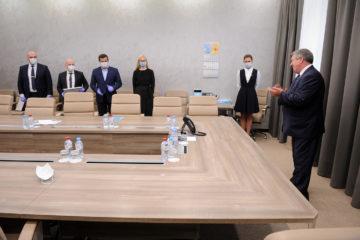 В Норильск с рабочим визитом прилетел Валерий Семенов