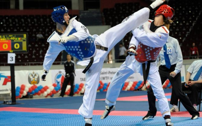 Норильчане завоевали призовые места на чемпионате Сибири по тхэквондо