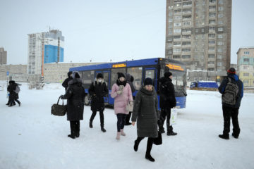 Норильчане не носят маски в транспорте и магазинах