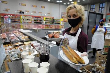 В магазинах открыли тематические зоны, посвященные «Большому Аргишу»
